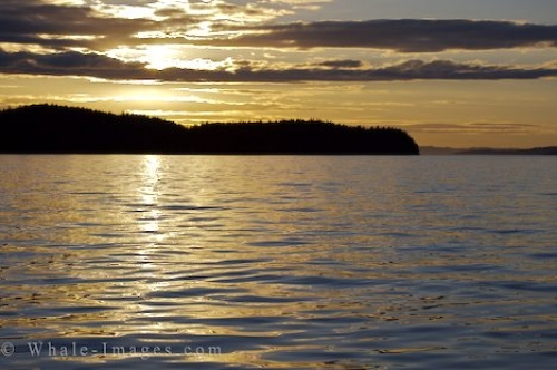 Northern Vancouver Island Sunset Clouds British Columbia Canada